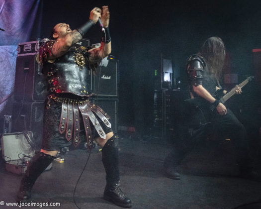 Picture of Ex Deo at Royal Metal Fest 2018 by Denmark music photographer Jason Champney