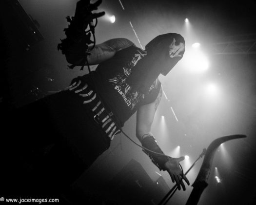 Picture of Horned Almighty at Royal Metal Fest 2018 by Denmark music photographer Jason Champney