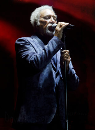 Picture of Tom Jones in concert by David Gasson