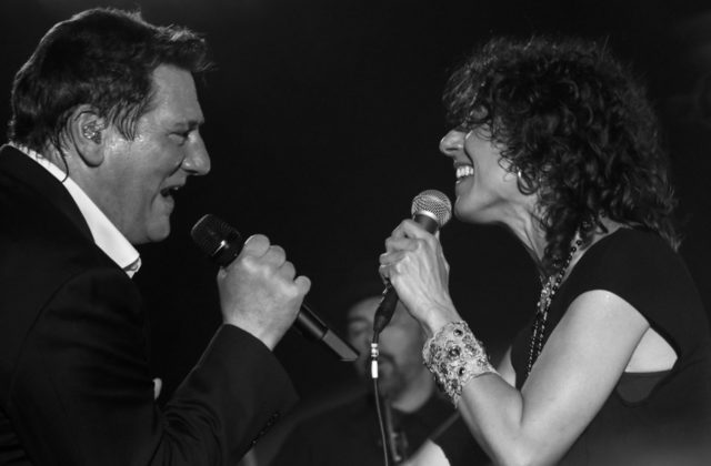 Picture of Tony Hadley in concert by David Gasson