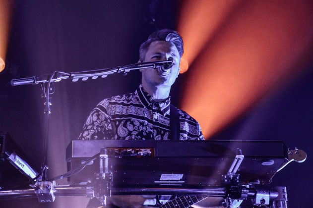 Picture of Walk The Moon in concert with photography by Vivian Danielle