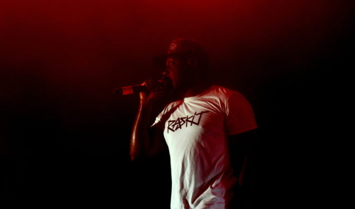Picture of Dizzee Rascal at the opening night of Outlook festival by David Gasson