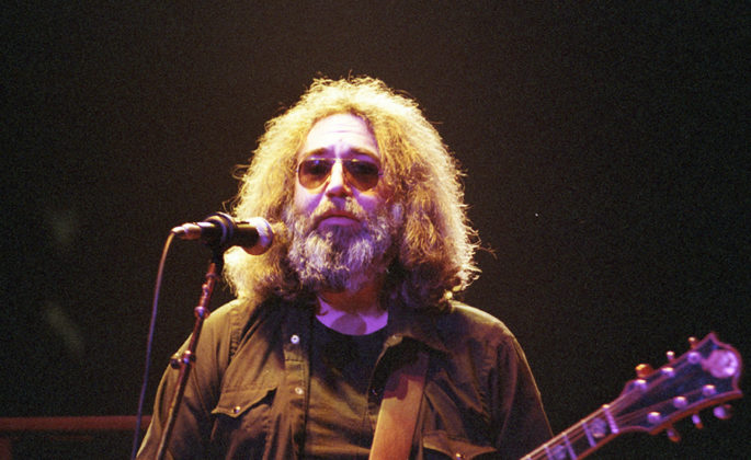 Picture of Grateful Dead in concert by Bill O'Leary