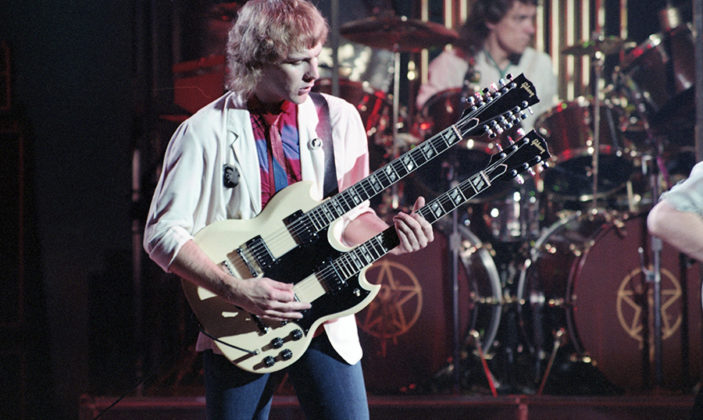 Picture of Rush in concert by Bill O'Leary