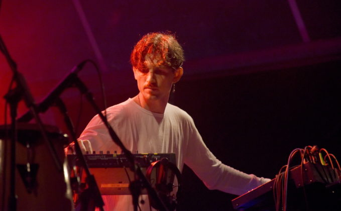 Picture of Romare at Dimensions festival by David Gasson