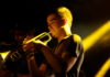 Picture of Brain Holidays in concert by David Gasson