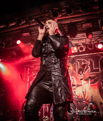 Picture of Beast in Black in concert with photography by Valerie Schuster