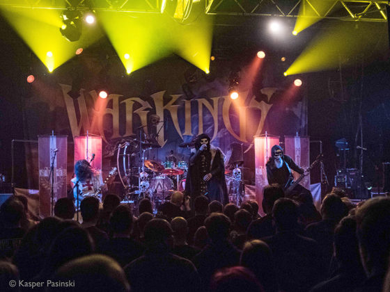 Picture of Warkings in concert with photography by Kasper Pasinski