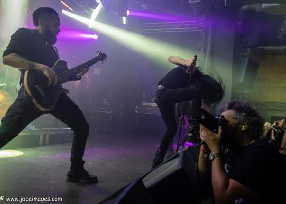 Picture of Ne Obliviscaris at Royal Metal Fest 2018 by Denmark music photographer Jason Champney
