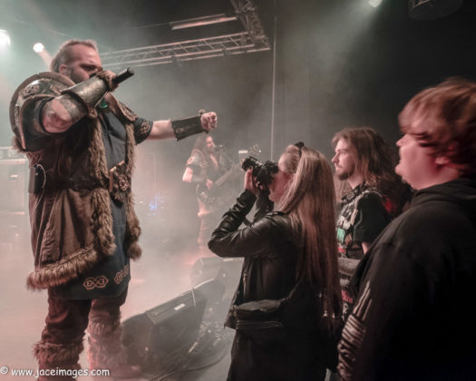 Picture of Wind Rose at the Royal Metal Fest 2018 by Denmark music photographer Jason Champney
