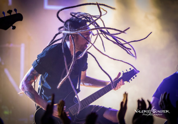 Picture of Infected Rain in concert with photography by Valerie Schuster