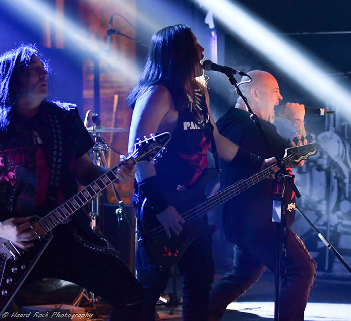 Picture of Red Partizan in concert with photography by Lennart Håård