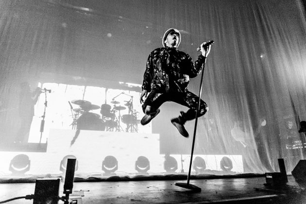 Picture of Anderson Paak in concert by the Dublin music photographer Danni Fro