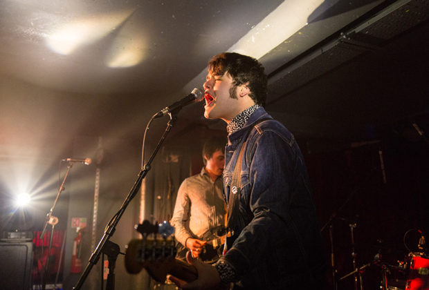 Picture of Touts in concert by Ireland music photographer Danni Fro