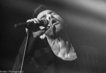 Picture of Dudi Bar David in concert taken by Omer Keidar the music photographer from Israel