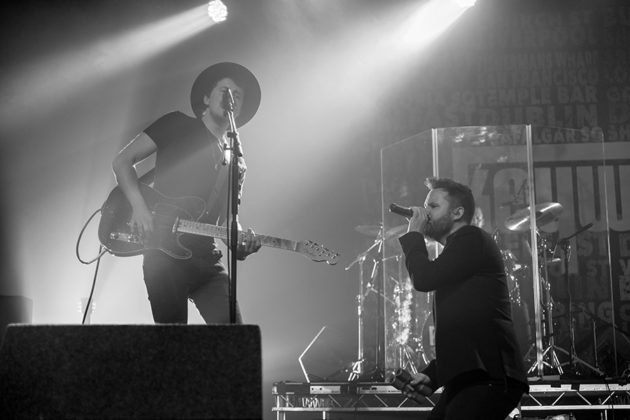 Picture of Keywest in concert by Dublin concert photographer Danni Fro