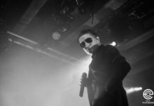 Picture of Nitzer Ebb in concert by Catarina Olausson
