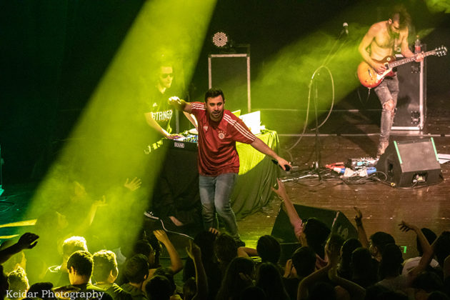 Picture of Peled in concert by Omer Keidar