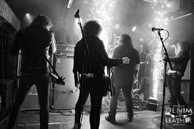Picture of Bullet in concert at a gig in Sweden by heavy metal music photographer Lennart Håård