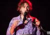 Picture of Matt Corby in concert by Australia music photographer Deb Kloeden