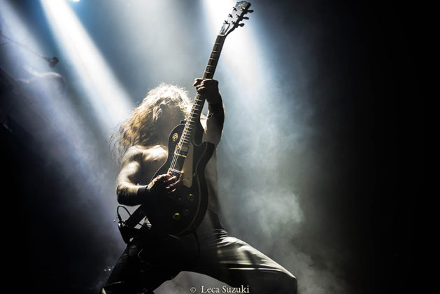 Picture of Enslaved in concert by Leca Suzuki