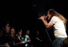 Picture of Saint Vitus in concert taken by the Denmark music photographer Kasper Pasinski