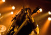Picture of Krisiun in concert taken in Denmark by the music photographer Kasper Pasinski