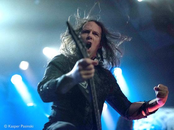 Picture of Septicflesh in concert by the Denmark music photography Kasper Pasinski