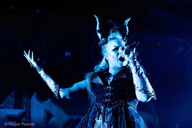 Picture of the power metal band Battle Beast at Denmark concert taken by Kasper Pasinski