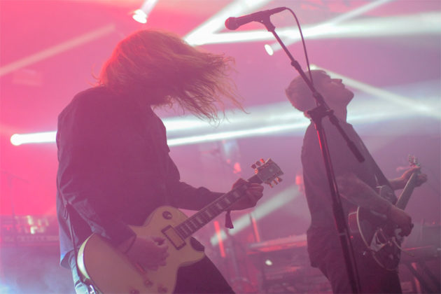 Picture of the Park Sounds Festival in Sweden taken by music photographer Marcus Vilson