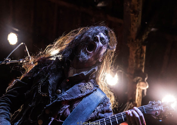 Picture of the Symphonic Death Metal band Fleshgod Apocalypse in concert taken by Leca Suzuki