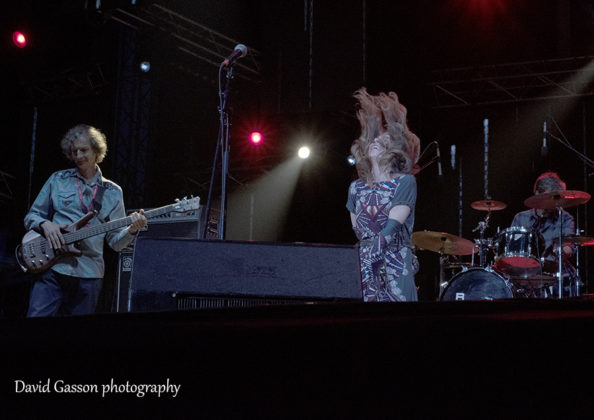 Picture of the band Nola in concert at the Sea Star festival with photography by David Gasson