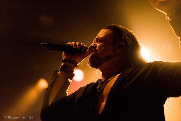 Picture of the progressive Heavy Metal band Symphony X in concert taken by Kasper Pasinski