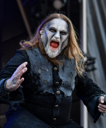Picture of the power metal band Powerwolf in concert taken by Lennart Håård