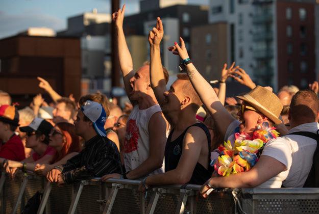 Picture of the Suomipop festivaali by Juha Oksa