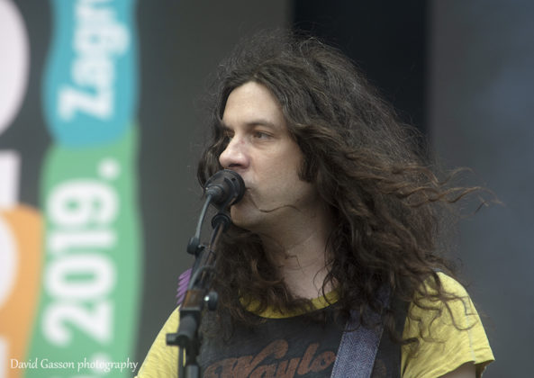 Picture of Kurt Vile & The Violators in concert taken by music photographer David Gasson