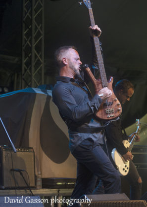 Picture of the rock band Nord in concert taken by music photographer David Gasson