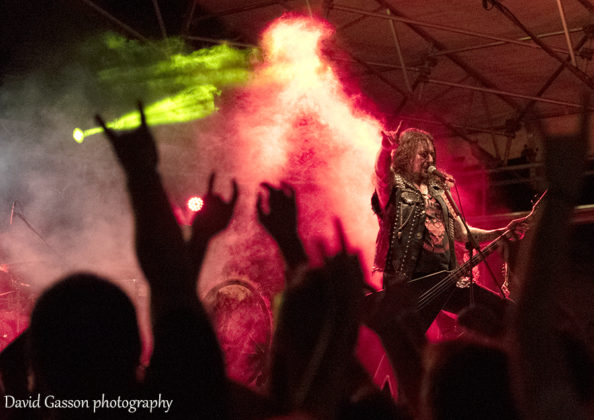 Picture of the heavy metal band Destruction in concert by David Gasson