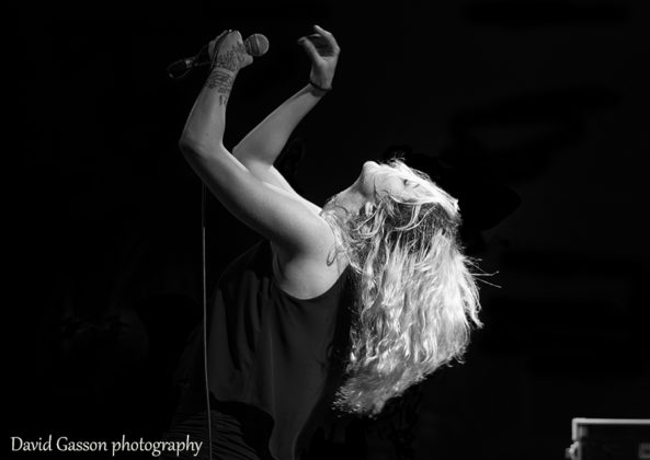 Picture of the Alternative heavy metal band Nikola`s Cage in concert taken by David Gasson