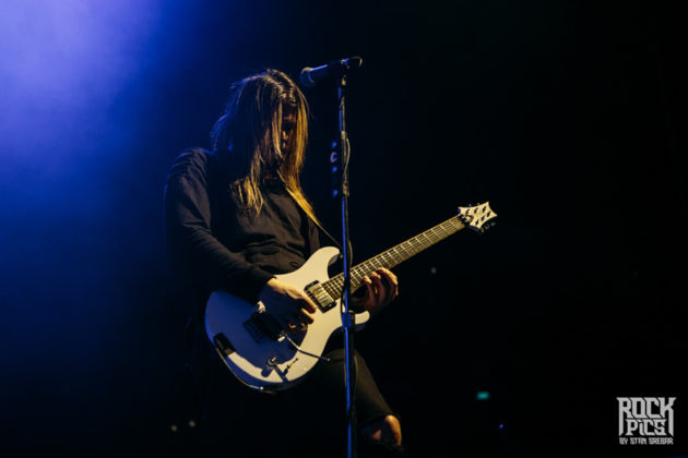 Picture of the heavy metal band Like a Storm in concert taken by Stan Srebar