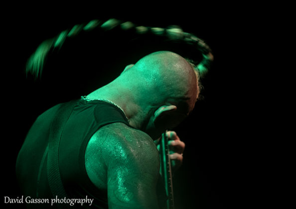 Picture of the death metal band Pestilence in concert taken at the GoatHell Metal Fest in Pula by David Gasson