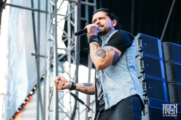 Picture of the Ronnie Romero & Eridan concert taken by festival photographer Stan Srebar
