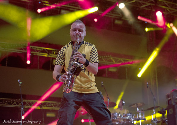 Picture of Dubioza kolektiv in concert in Pula by David Gasson