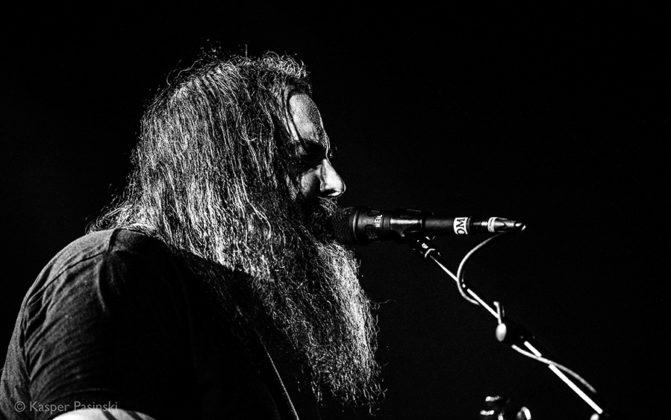 Picture of the heavy metal band OM in concert in Denmark taken by Kasper Pasinski