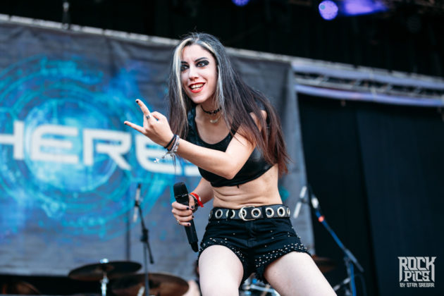 Picture of the heavy metal band Sinheresy in concert taken by Stan Srebar