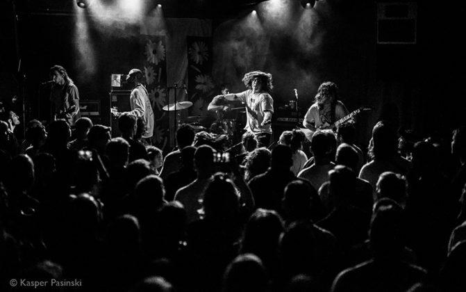 Picture of the hardcore punk band Turnstile in concert in Denmark taken by Kasper Pasinski