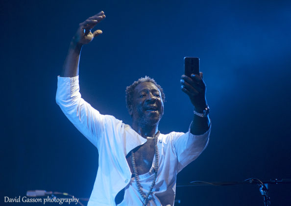 Picture of Jean-phi Dary in concert taken at the Dimensions music festival in Croatia by David Gasson