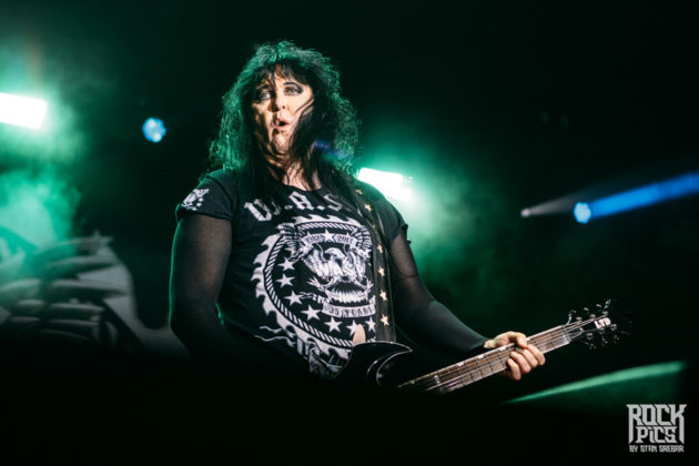 Picture of the heavy metal band W.A.S.P. in concert taken by Stan Srebar