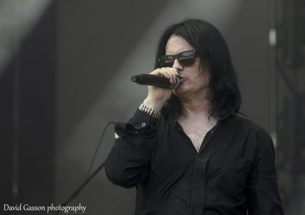 Picture of the gothic rock band Phantasmagoria in concert taken by David Gasson