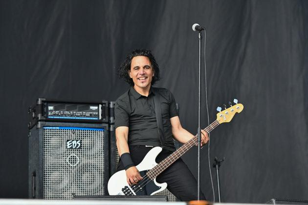Picture of the rock group Danko Jones in concert taken by Lennart Håård